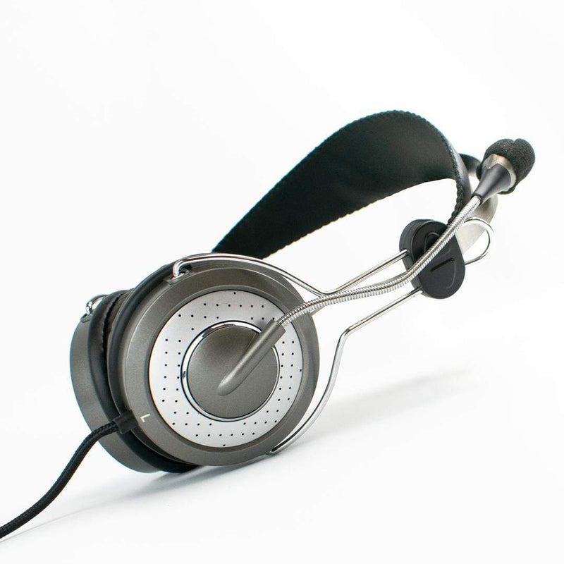 Genius HS-04SU Noise Cancelling 3.5mm Headset with Mic Zoom Skype iChoose Ltd