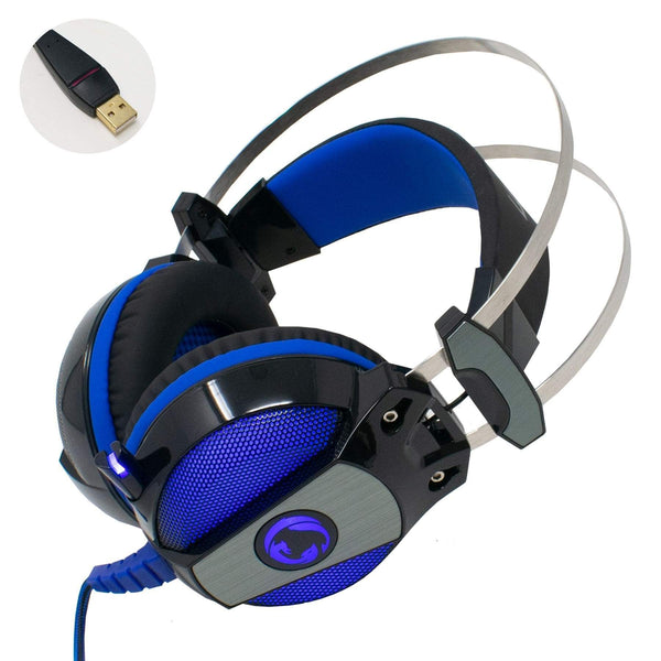 Nedis GHST500BK USB Gaming Headset with Mic 7.1 Surround Sound iChoose Ltd