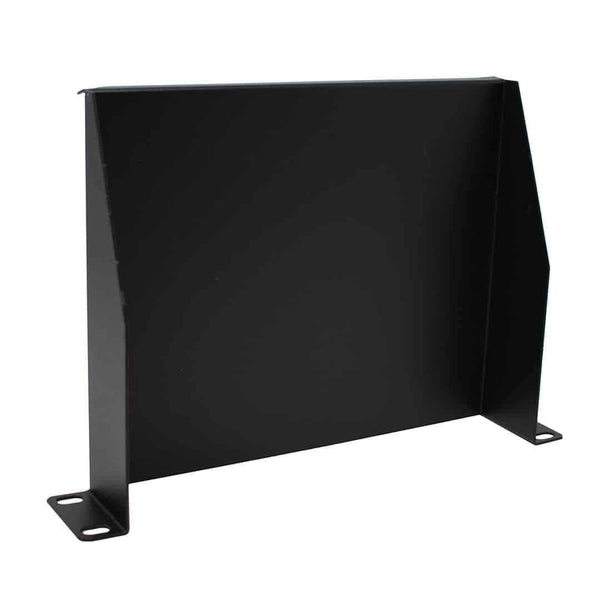 "KAUDEN SOHO/SLV 10"" 1U Rack Mount Cantilever Shelf in Black KAUDEN"