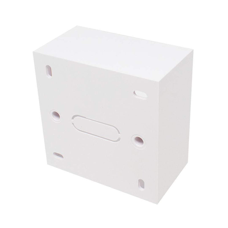 KAUDEN SX7068WH Single Plastic Back Box 86 x 86 x 47mm White KAUDEN