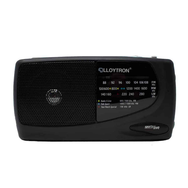 Lloytron N736 3 Band Sports Portable MW/FM/LW Personal Radio Lloytron