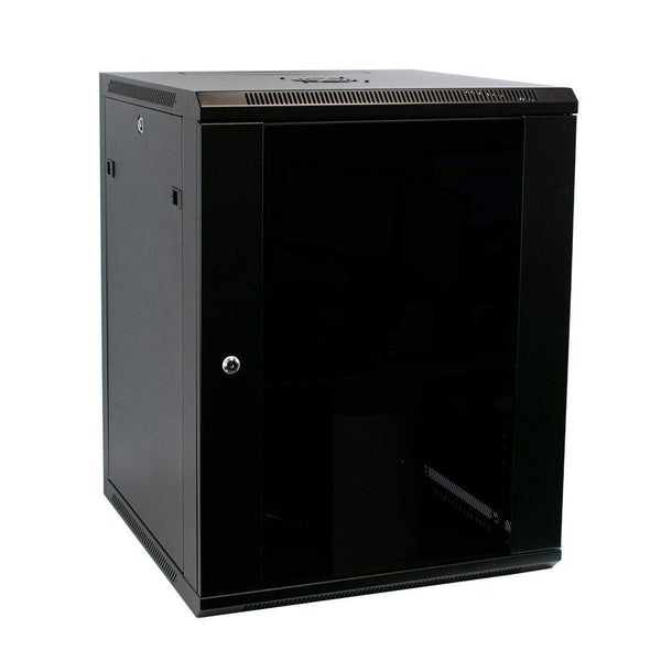 "LMS Data 003-304-010-01 15U 19"" Wall Mount Server Cabinet LMS Data"
