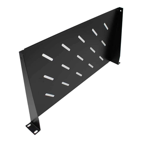 LMS Data 1U Vented Data Cabinet Shelf 250mm Deep Cantilever LMS Data