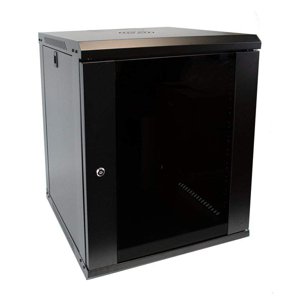 "LMS Data CAB-C12 12U 19"" Wall Mounted Data Server Cabinet 500mm LMS Data"