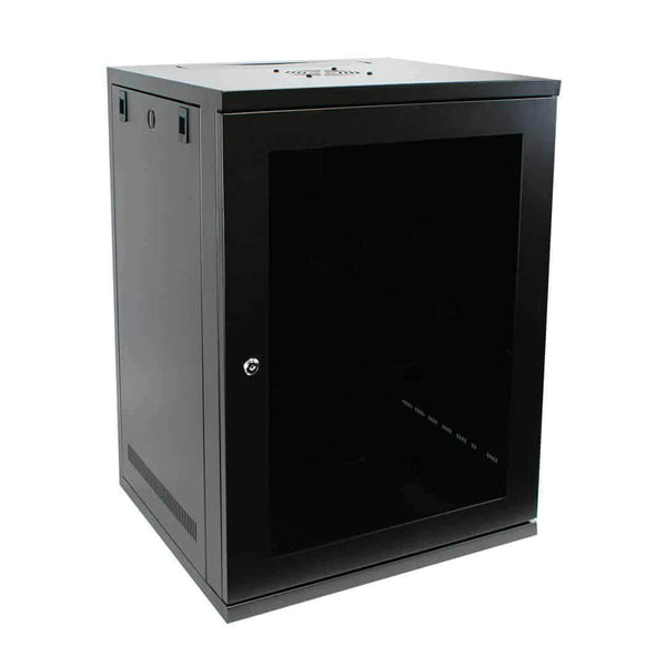 "LMS Data CAB-W15U-EL450 15U 19"" Wall Mount Server Cabinet 450mm LMS Data"