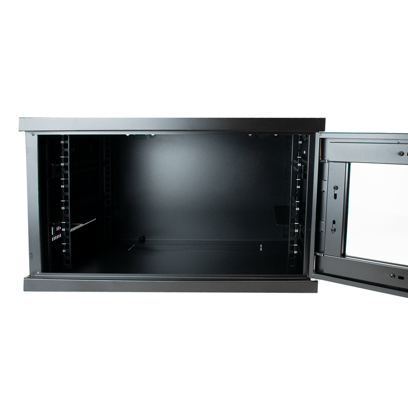 "LMS Data CAB-W6U-EL400 6U 19"" Wall Mounted Data Server Cabinet LMS Data"