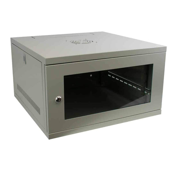 "LMS Data CAB-W6U-EL550G 6U 19"" Wall Mount Server Cabinet Grey LMS Data"