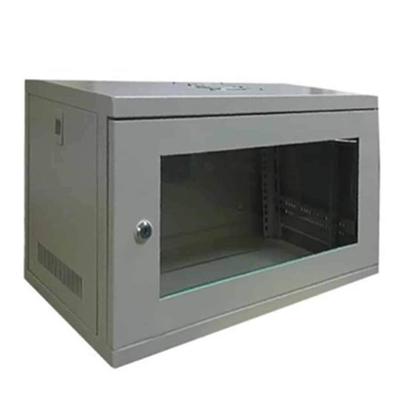 LMS Data CAB-W9U-EL450G 9U Wall Mounted Server Cabinet Grey LMS Data