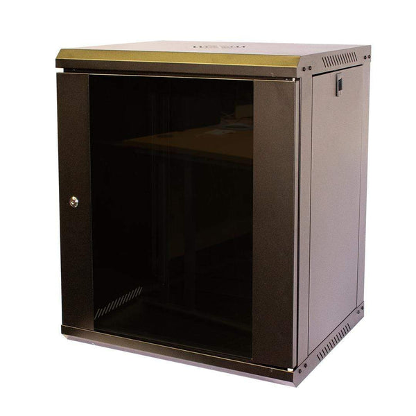 "LMS Data CAB-WFP55-12U450 Flat Pack 12U 19"" Wall Mount Cabinet LMS Data"