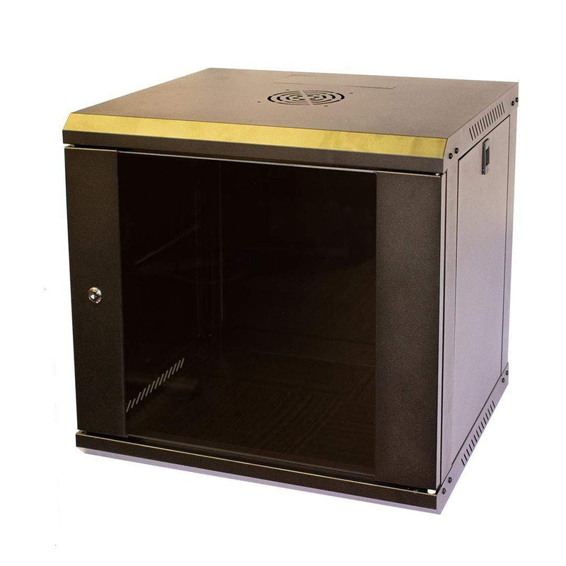 "LMS Data CAB-WFP55-9U450 Flat Pack 9U 19"" Wall Mount Cabinet LMS Data"