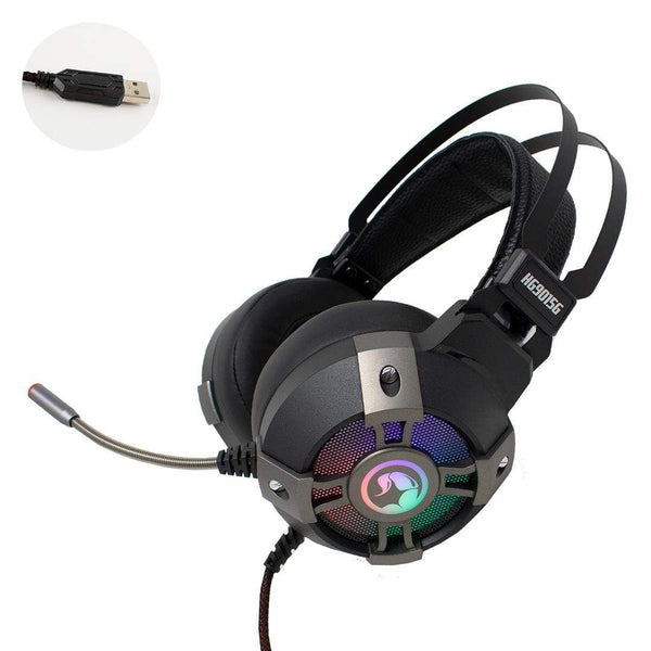 Marvo Scorpion HG9015G USB 7.1 Surround Sound PC Gaming Headset Marvo