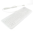 Microsoft D600 Wired USB Qwerty Keyboard in White Microsoft