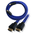 HDMI Cable Certified UHD 4K 2.0b Braided Lead 5m Blue NEWlink