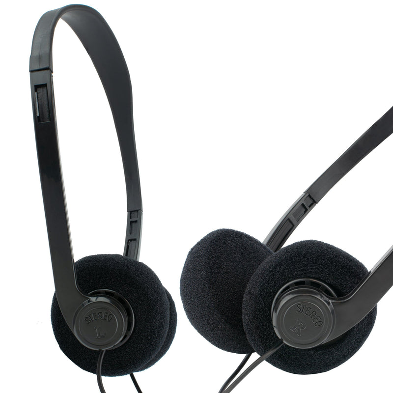 Pro Signal 03469 Over Head 3.5mm Headphones for School Education Pro Signal