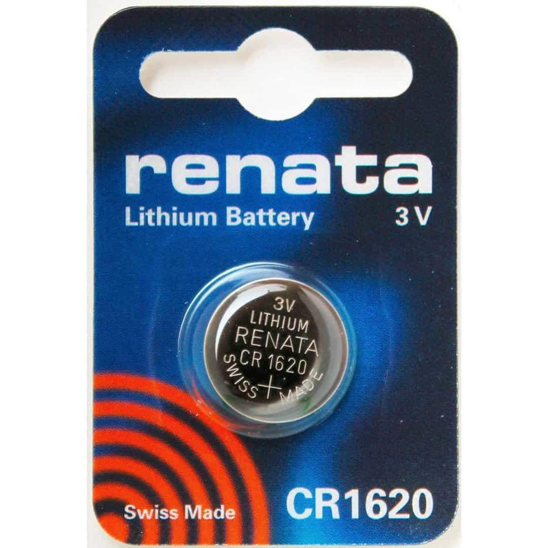Renata CR1620 Coin Cell Battery Lithium 3V Renata