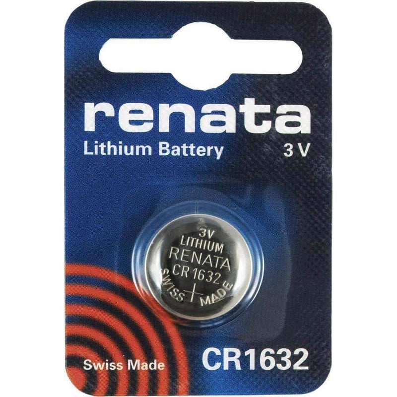 Renata CR1632 Coin Cell Battery Lithium 3V Renata