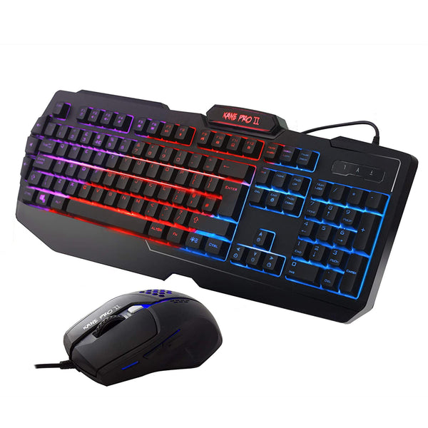 Sumvision Kane Pro 2 LED Wired Gaming Keyboard and Mouse Combo Sumvision