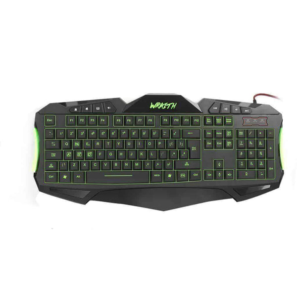 Sumvision Nemesis Wraith 7 Colour LED Gaming Wired Keyboard Sumvision