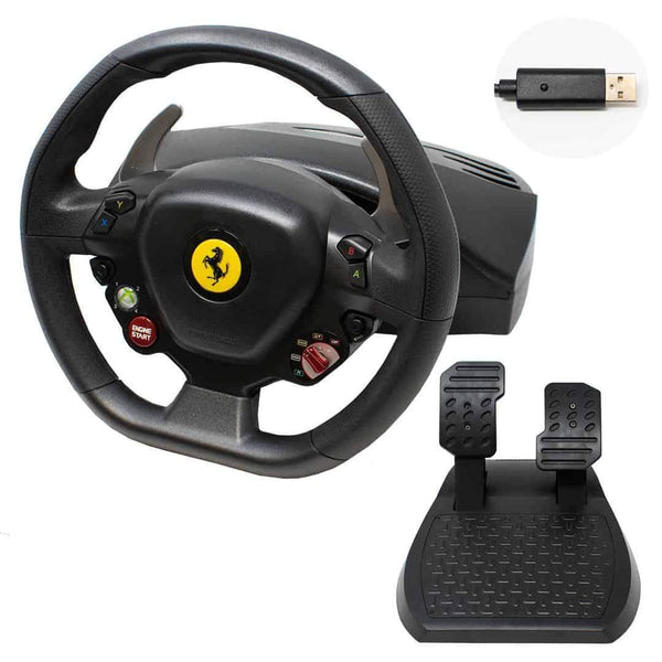 Thrustmaster Ferrari 458 Italia Gaming Racing Wheel & Pedals Thrustmaster