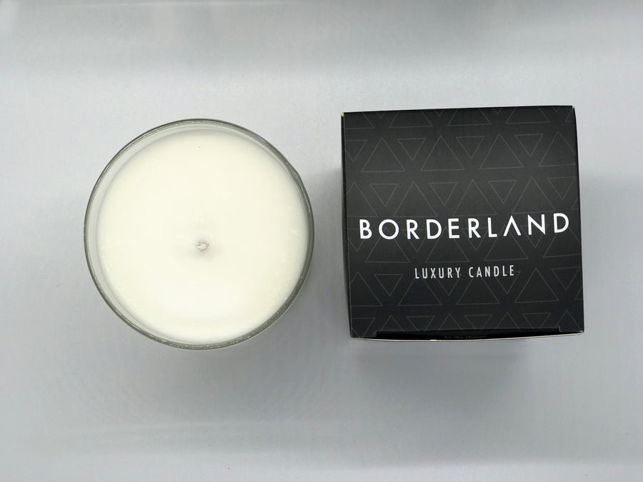 Sparkling Champagne Candle | Borderland | 8 oz Tumbler | Valentine's Day Gift
