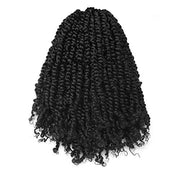 Toyotress Tiana Passion Twist Hair - 12 Inch Pre-Looped Pre-twisted Crochet Braids Hair Synthetic Braiding Hair Extension