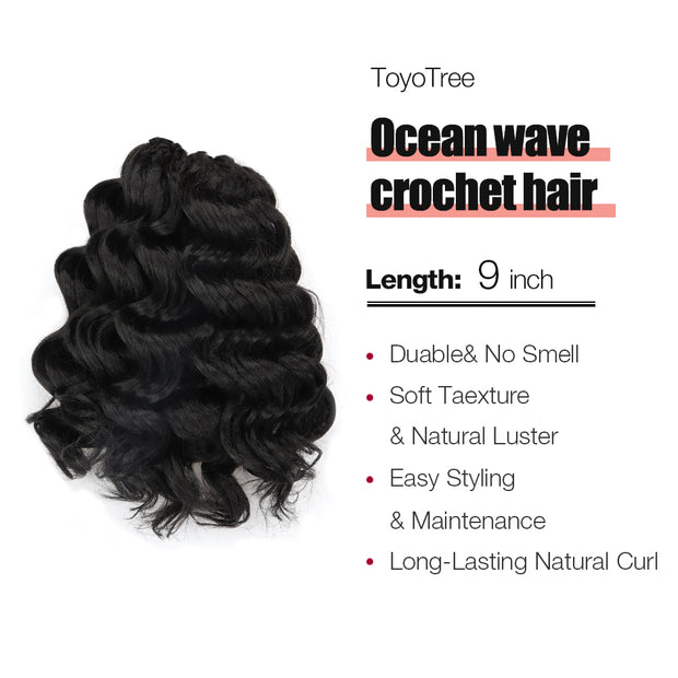 OCEAN WAVE CROCHET BRAIDS HAIR