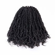 Toyotress Handmade Spring Twist Hair Pre-twisted Spring Twists Crochet Braids Synthetic Braiding Hair Extension