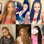 ToyoTress 1Packs Box Braids Crochet Hair Crochet Box Braids Hair Synthetic Hair Braiding Hair Extensions