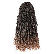 Toyotress Tiana Passion Twist Hair - 20 Inch Pre-Looped Pre-twisted Crochet Braids Hair Synthetic Braiding Hair Extension