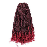 Toyotress Tiana Passion Twist Hair - 24 Inch Pre-Looped Pre-twisted Crochet Braids Hair Synthetic Braiding Hair Extension