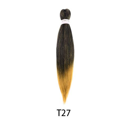 Toyotress 22 Inch Pre-stretched Braiding Hair Hot Water Setting Synthetic Fiber Crochet Braids Crochet Hair Braiding Hair Extension