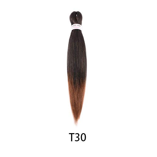 Toyotress Pre-stretched Braiding Hair Hot Water Setting Synthetic Fiber Crochet Braids Crochet Hair Braiding Hair Extension