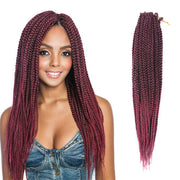ToyoTress 7Packs Box Braids Crochet Hair Crochet Box Braids Hair Synthetic Hair Braiding Hair Extensions