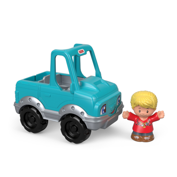 Fisher-Price Little People mėlynoji mašinėlė
