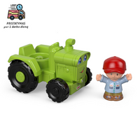 Fisher-Price Little People žaislinis traktorius su mažuoju ūkininku