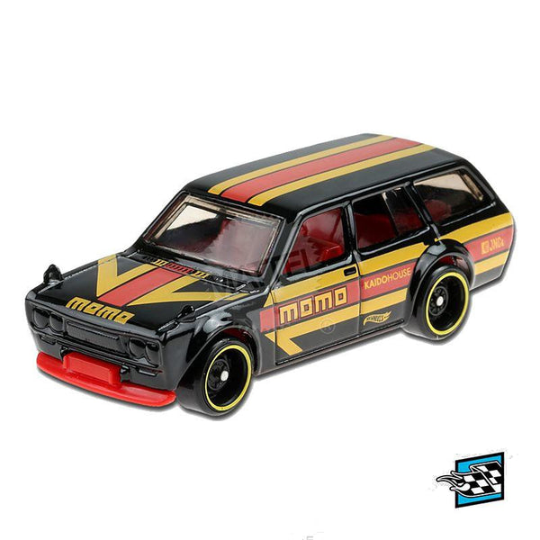Hot Wheels Datsun Bluebird Wagon (510) (8/10)