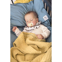 Elodie Details antklodė - pledas / Cotton waffle blanket - Sweet Honey Yellow