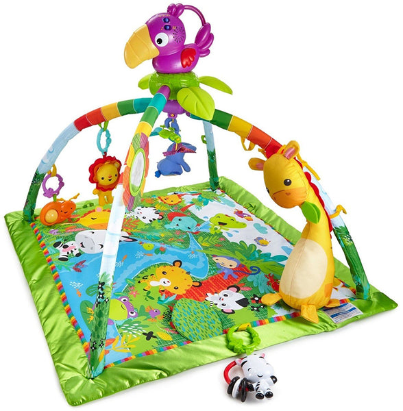 Fisher-Price lavinamasis kilimėlis /Rainforest Melodies & Lights Deluxe (4783249391698)