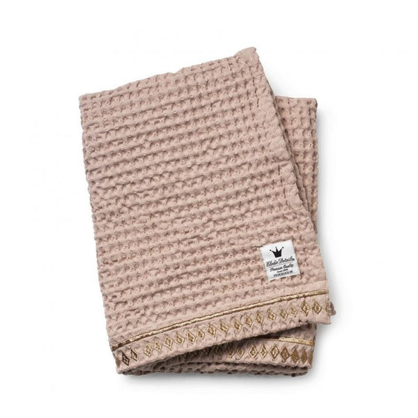 Elodie Details antklodė - pledas / Cotton waffle blanket - Gilded Powder