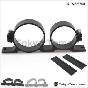 044 Fuel Pump & Filter Dual Mounting Bracket Anodized Aluminum Systems