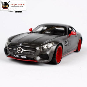 1: 24 Factory Maisto Mercedes Amg Gt Modified Simulation Alloy Car Model Ornaments