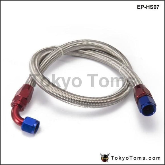 1.6Meter A10-0A An10-90A Stainless Steel Braided Line & Fitting Hose End Adapter Kit Oil Cooler