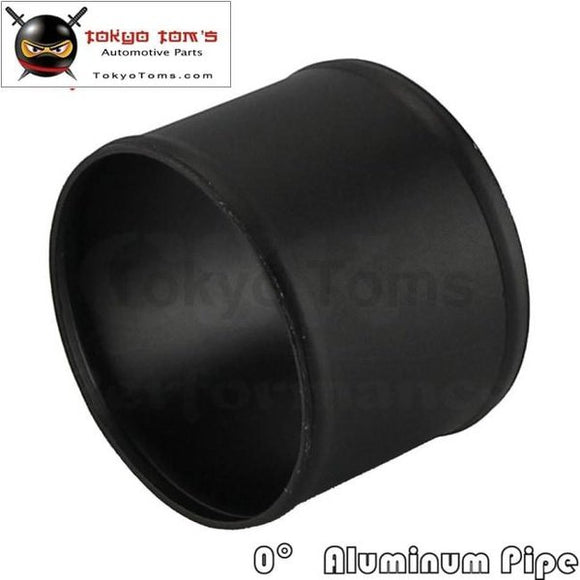 102Mm 4 Inch Aluminum Hose Adapter Tube Joiner Pipe Coupler Connector Black Piping