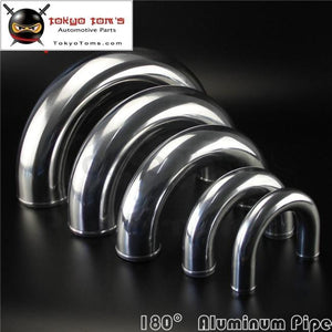 102Mm 4 Inch Aluminum Intercooler Intake Pipe Piping Tube Hose 180 Degree L=300Mm