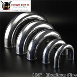 "102mm 4"" Inch Aluminum Intercooler Intake Pipe Piping Tube Hose 180 Degree L=300mm"