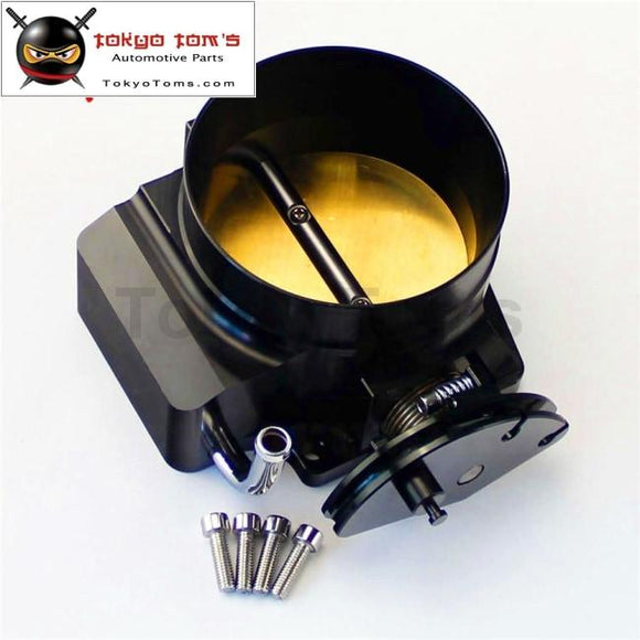 102Mm Throttle Body G M Gen Iii Ls1 Ls2 Ls6 Ls3 Ls Ls7 Sx 4 Cnc Bolt Cable Black