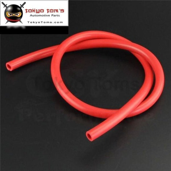 10Mm Id Silicone Vacuum Tube Hose 1Meter / 3Ft For Air Water- Blue/ Black /red Csk Performance