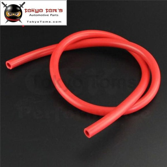 10Mm Id Silicone Vacuum Tube Hose 1Meter / 3Ft For Air Water- Blue/ Black /red