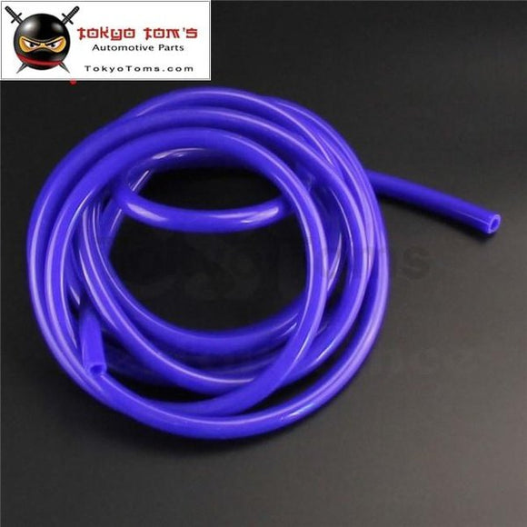 10Mm Id Silicone Vacuum Tube Hose 5 Meter / 16Ft Length - Blue Red