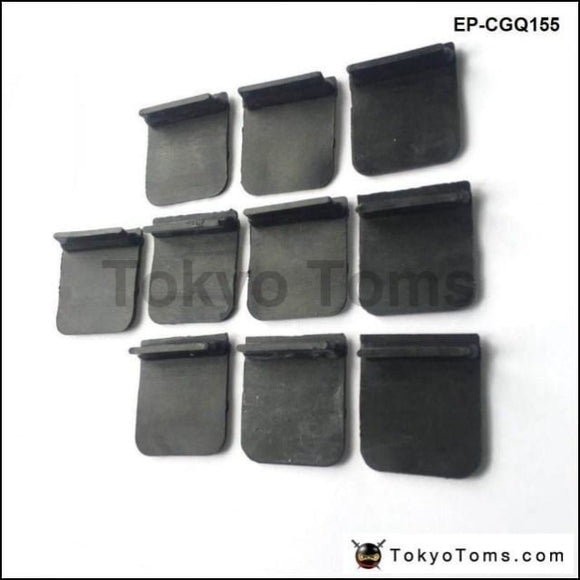 10Pcs/bag Surge Rubber Flap For Baffle Plates & Baffled Sumps Rcm Viton Material Fuel Systems